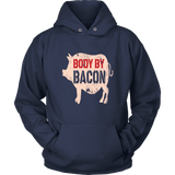 Bacon Hoodie - Body By Bacon