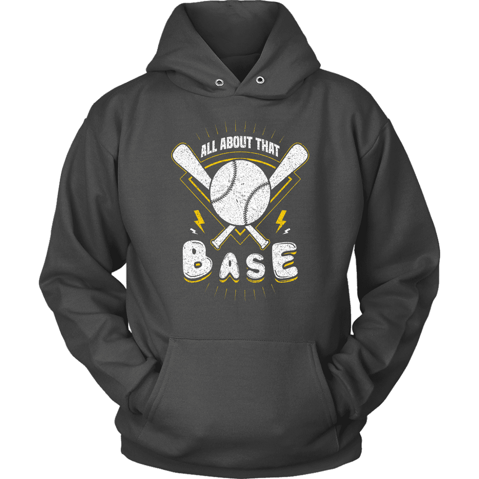 Baseball Hoodie - All About That Base