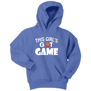 Basketball Hoodie | Youth - This Girl's Got Game
