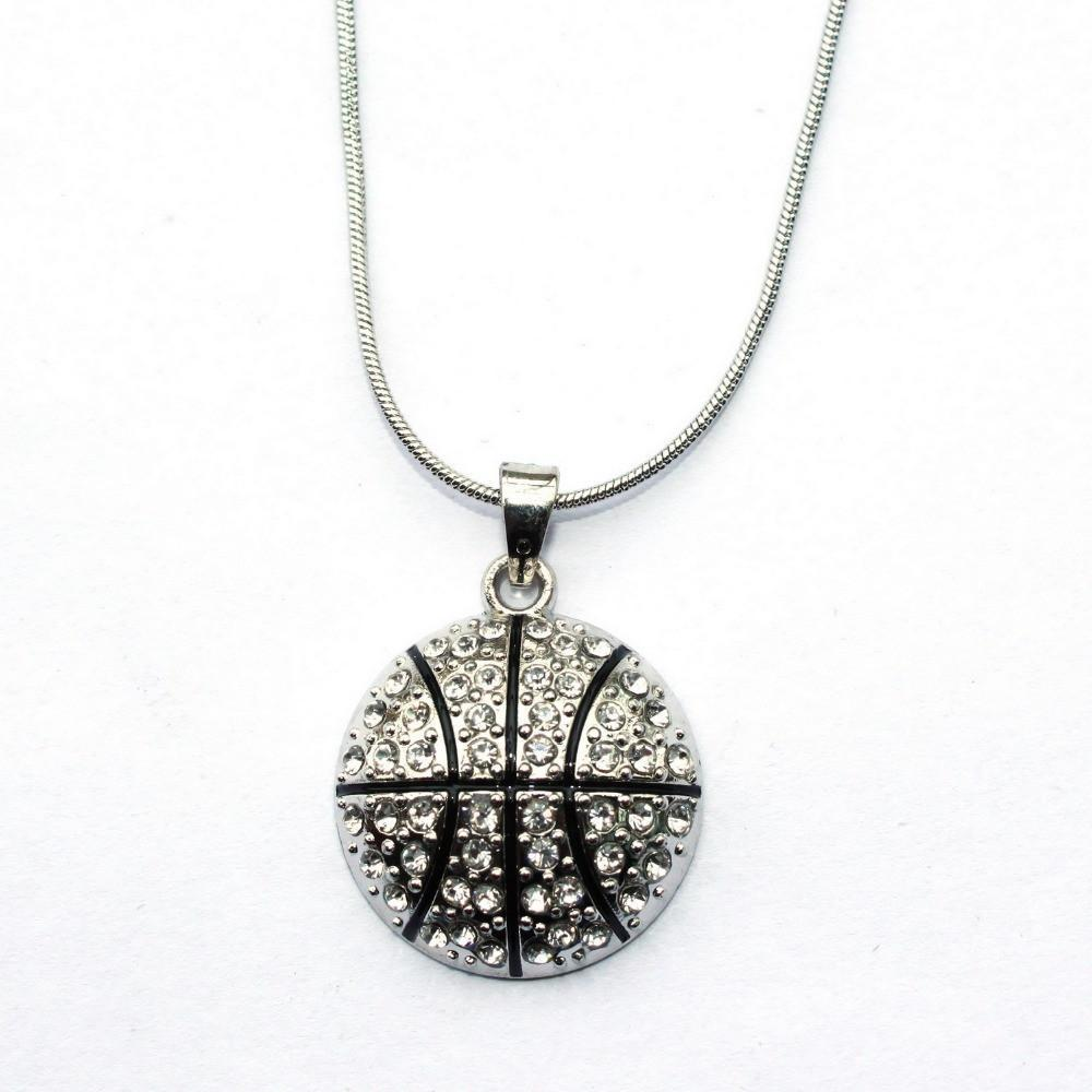 Basketball Pendant Necklace Offer-Free + Shipping-Spyder Deals