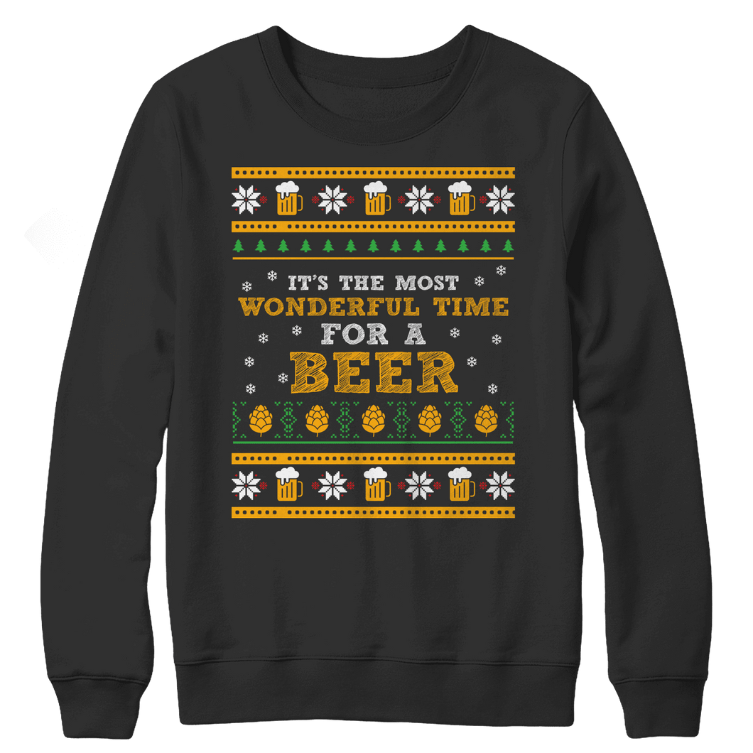 Beer Time-Crewneck Fleece-Spyder Deals