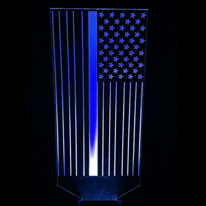 Blue Line Flag 2-LED Lamps-Spyder Deals