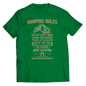 Camp Rules-Unisex Shirt-Spyder Deals