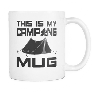 Camping Mug - This is My Camping Mug-Drinkware-Spyder Deals
