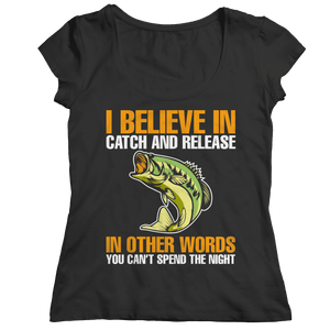 Catch And Release-Unisex Shirt-Spyder Deals