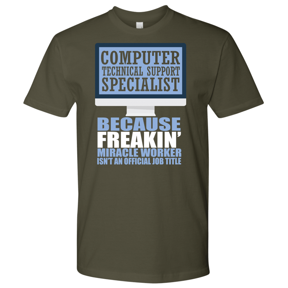 Computer Technical Support Specialist Shirt  - Official Job Title