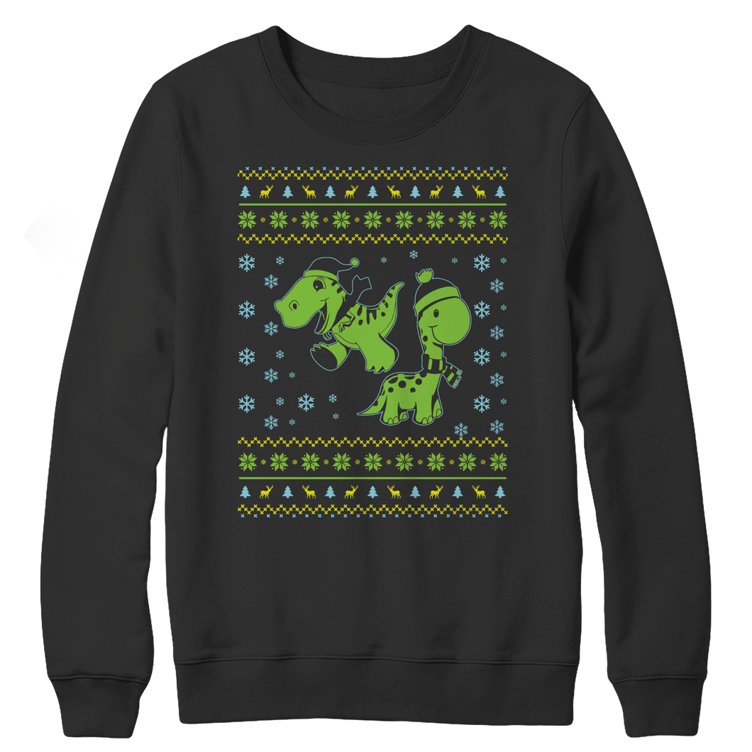 Dino Xmas-Crewneck Fleece-Spyder Deals