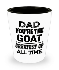 Fathers Day Shot Glass Dad Birthday Gifts From Daughter Cute Funny Novelty Cup