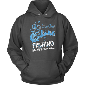 Fishing Hoodie - 99 Problems