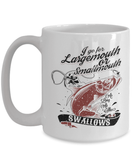 Fishing Mug | White - As Long As She Swallows