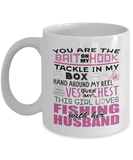 Fishing Mug | White - You Are The Bait On My Hook
