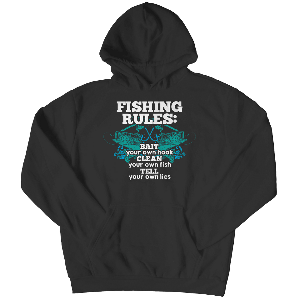 Fishing Rules-Hoodie-Spyder Deals