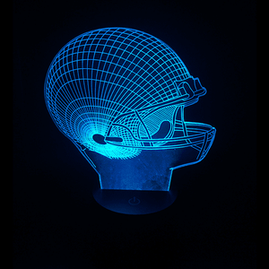 Football Helmet-LED Lamps-Spyder Deals