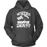 Fortnite Hoodie - Where We Droppin' Boys?-T-shirt-Spyder Deals
