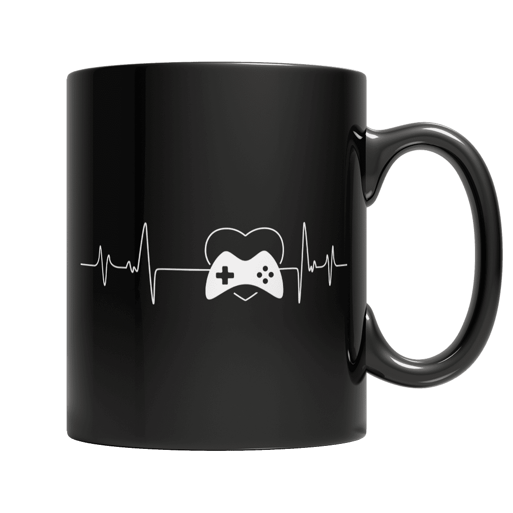 Gamer Pulse-11oz Black Mug-Spyder Deals