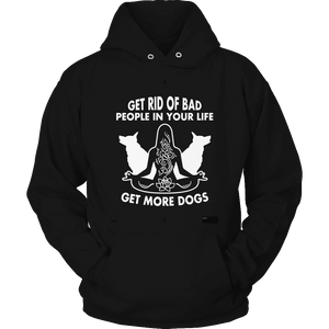 Get Rid Of Bad People-T-shirt-Spyder Deals