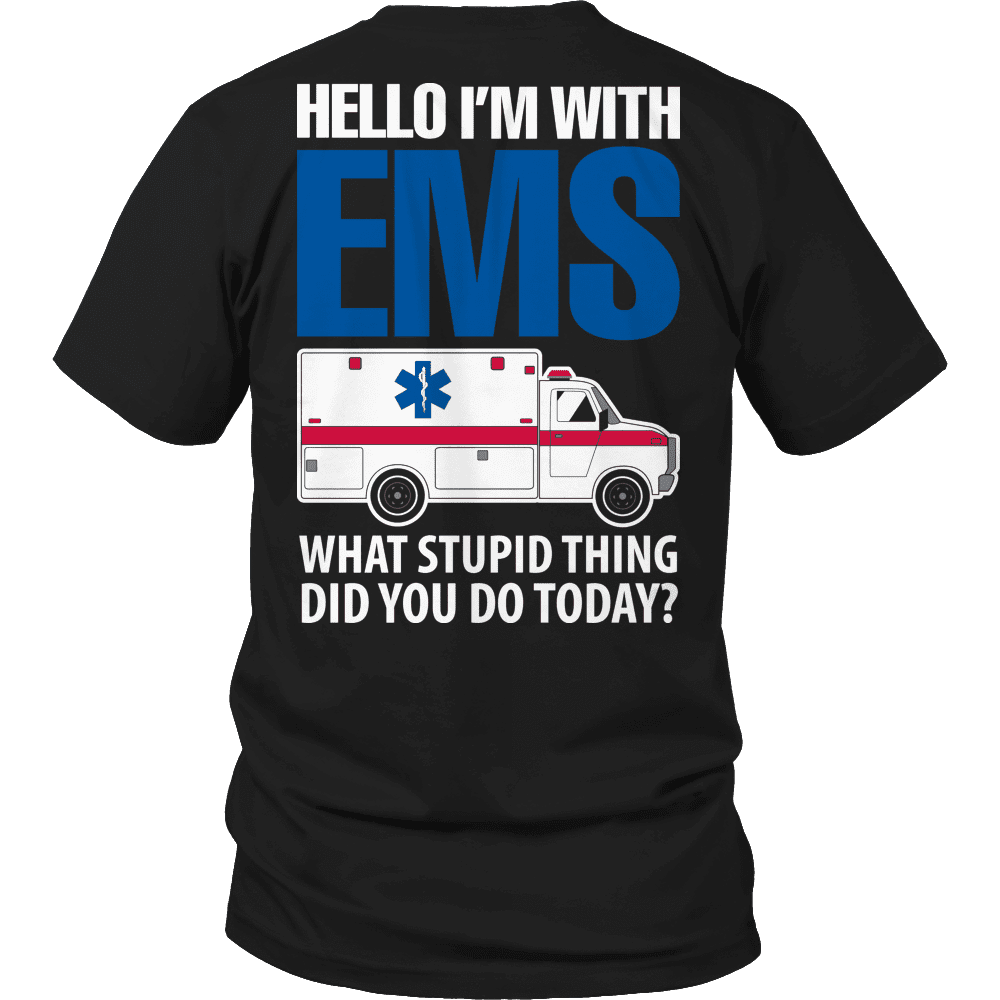 Hello I'm With EMS-T-shirt-Spyder Deals