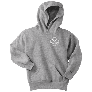 Hockey Hoodie | Youth - Hockey Stick Crest