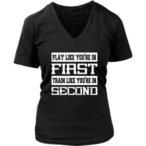 Hockey Shirt - Play Like You're in First-T-shirt-Spyder Deals