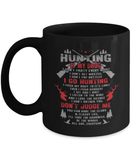 Hunting Mug | Black - Hunting Is My Drug