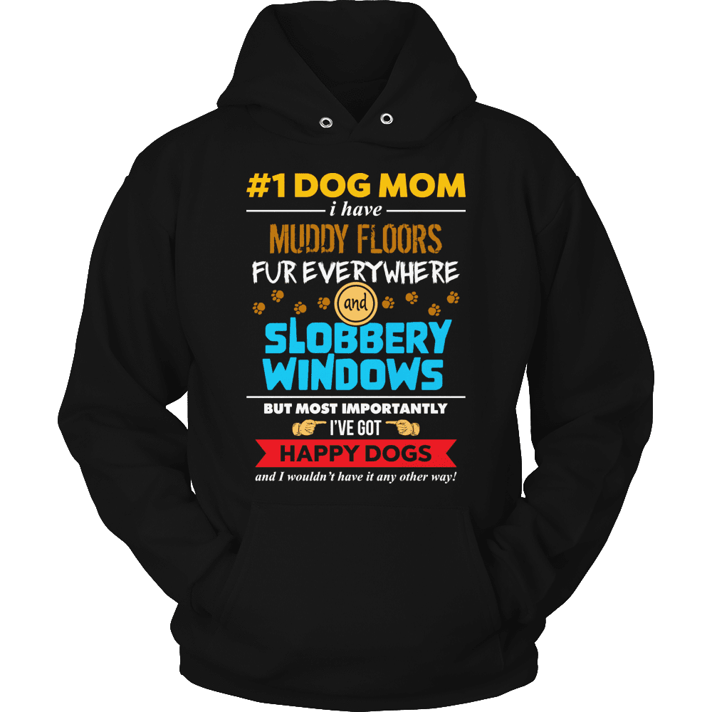 Limited Edition - # 1 Dog Mom-T-shirt-Spyder Deals