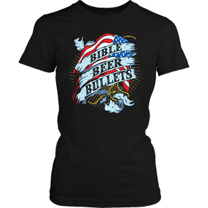 Limited Edition - Bible Beer Bullets-T-shirt-Spyder Deals
