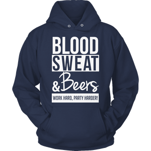 Limited Edition - Blood Sweat & Beers-T-shirt-Spyder Deals