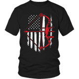 Limited Edition - Bow Hunter Flag-T-shirt-Spyder Deals