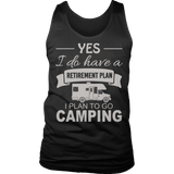 Limited Edition - Camping Retirement Plan-T-shirt-Spyder Deals
