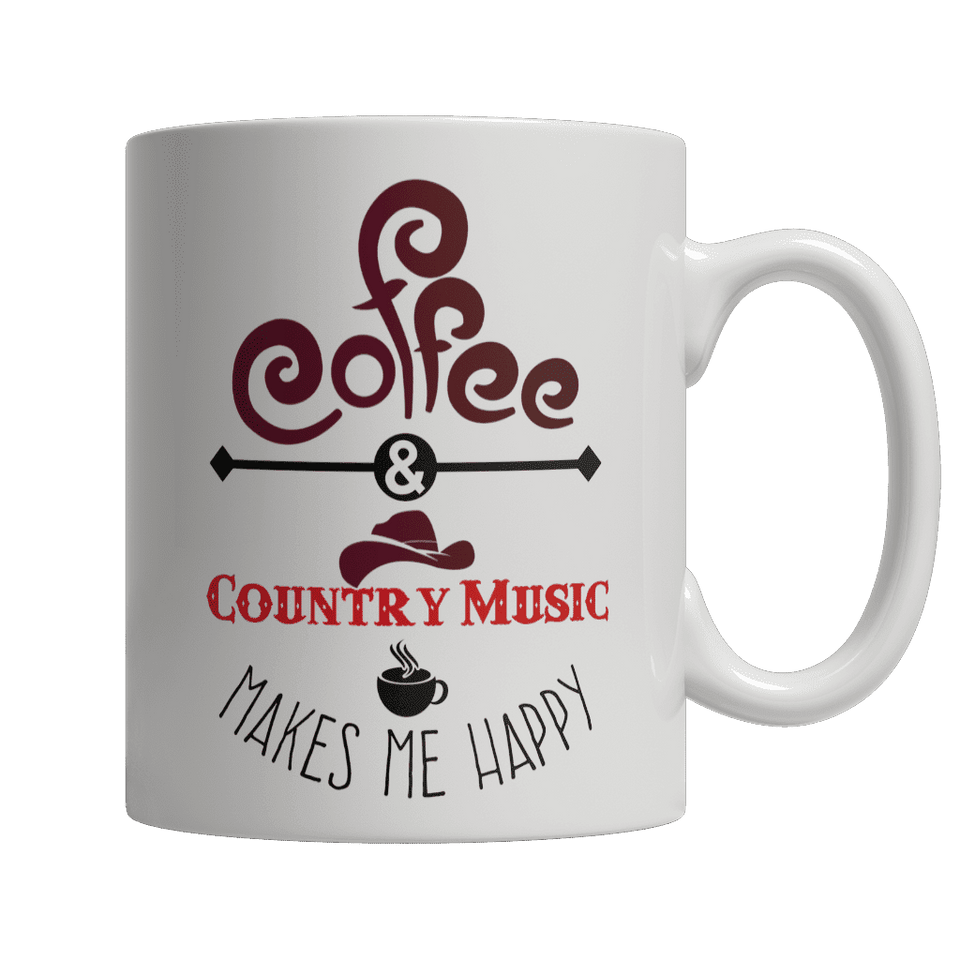 Limited Edition - Coffee and Country Music Makes Me Happy
