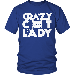Limited Edition - Crazy Cat Lady-T-shirt-Spyder Deals