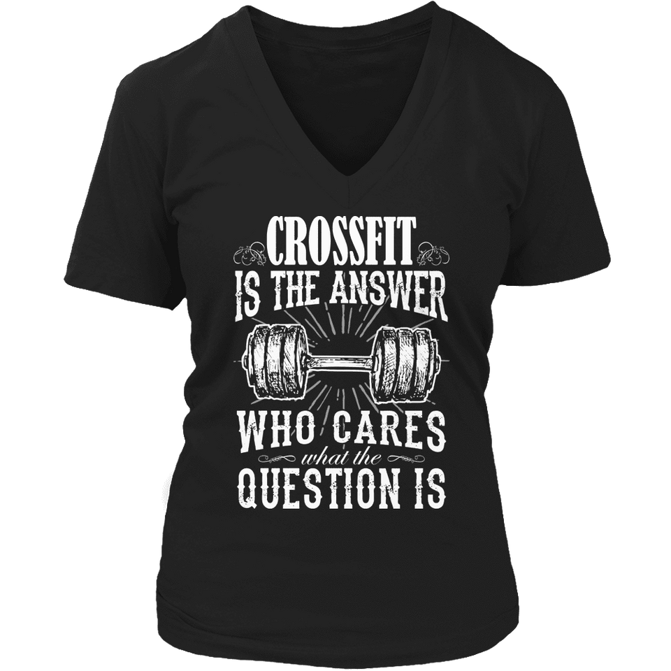 Limited Edition - Crossfit is The Answer-T-shirt-Spyder Deals
