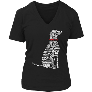 Limited Edition - Dog Instructions-T-shirt-Spyder Deals