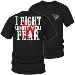 Limited Edition Firefighters - I fight what you fear South Carolina Brotherhood-T-shirt-Spyder Deals