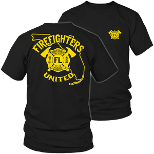 Limited Edition - Florida Firefighters United-T-shirt-Spyder Deals
