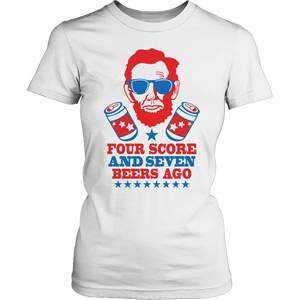 Limited Edition - Four Scores and Seven Beers Ago-T-shirt-Spyder Deals