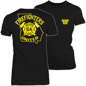 Limited Edition - Georgia Firefighters United-T-shirt-Spyder Deals