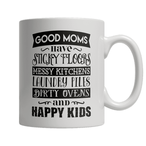 Limited Edition - GOOD MOMS HAVE STICKY FLOORS-Drinkwear-Spyder Deals