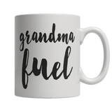 Limited Edition - Grandma Fuel-11oz White Mug-Spyder Deals