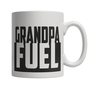 Limited Edition - Grandpa Fuel-11oz White Mug-Spyder Deals
