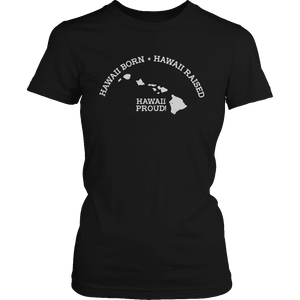 Limited Edition - Hawaii Born Hawaii Raised Hawaii Proud-T-shirt-Spyder Deals