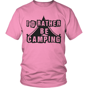 Limited Edition - I'd Rather Be Camping-T-shirt-Spyder Deals