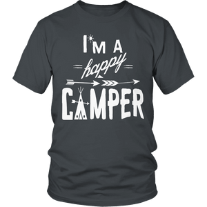 Limited Edition - I'm A Happy Camper-T-shirt-Spyder Deals