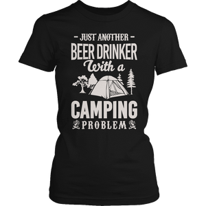 Limited Edition - Just Another Beer Drinker With A Camping Problem-T-shirt-Spyder Deals