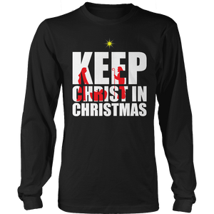Limited Edition - Keep Christ in Christmas-T-shirt-Spyder Deals