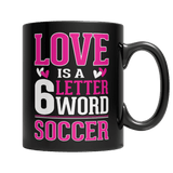 Limited Edition - Love is a 6 letter word Soccer-Drinkwear-Spyder Deals