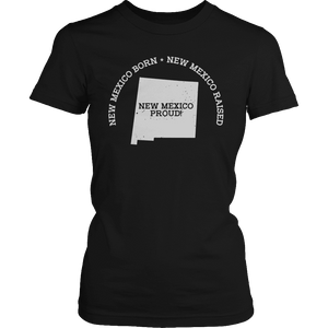 Limited Edition - New Mexico Born New Mexico Raised New Mexico Proud-T-shirt-Spyder Deals