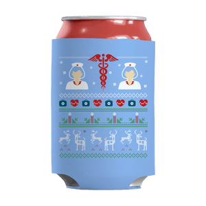 Limited Edition - Nurse Symbol Christmas-Can Wraps-Spyder Deals
