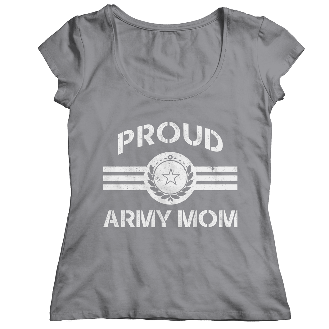 Limited Edition - Proud Army Mom-Ladies Classic Shirt-Spyder Deals