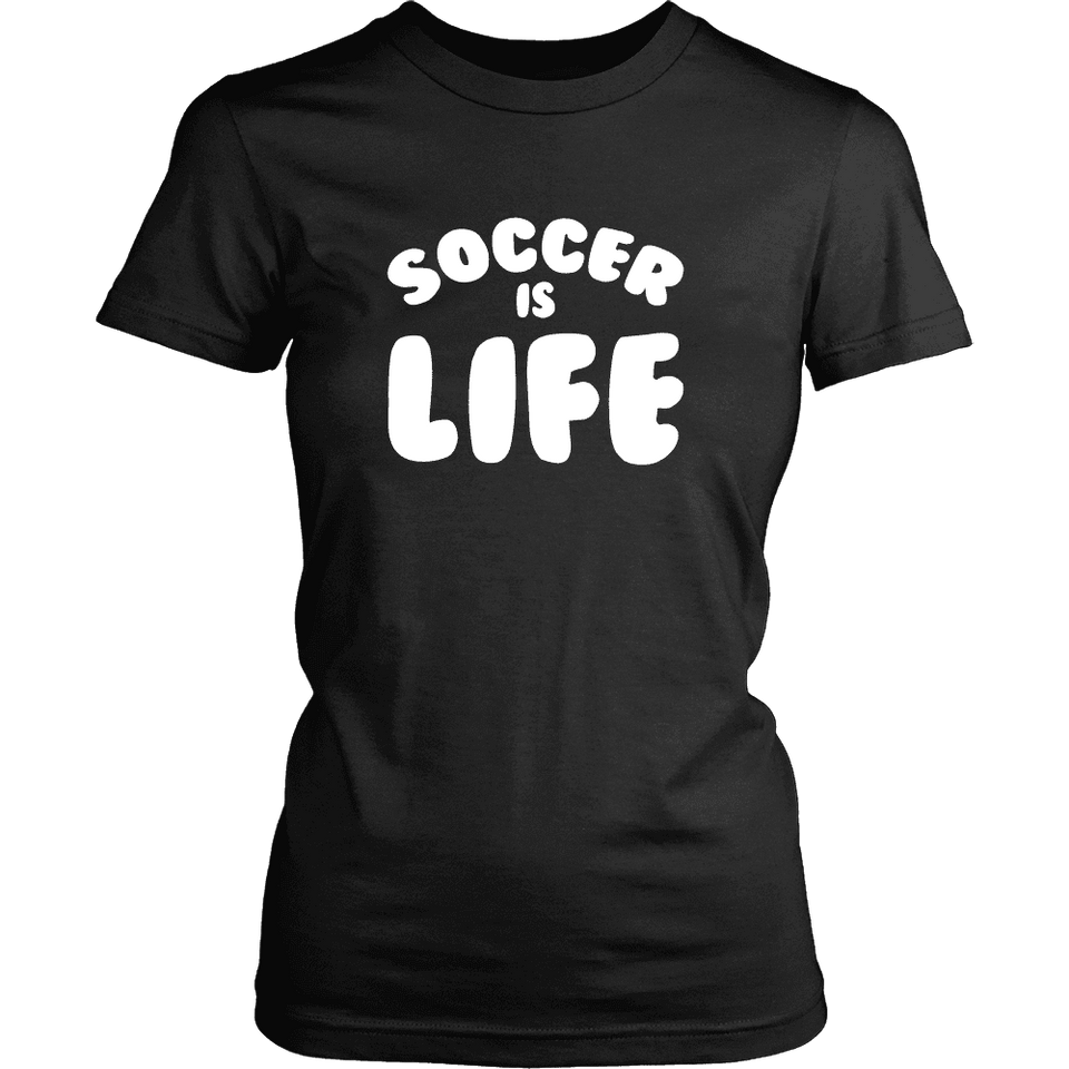 Limited Edition - Soccer is Life-T-shirt-Spyder Deals